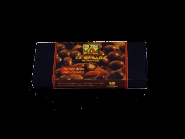 Almendras recubiertas con chocolate