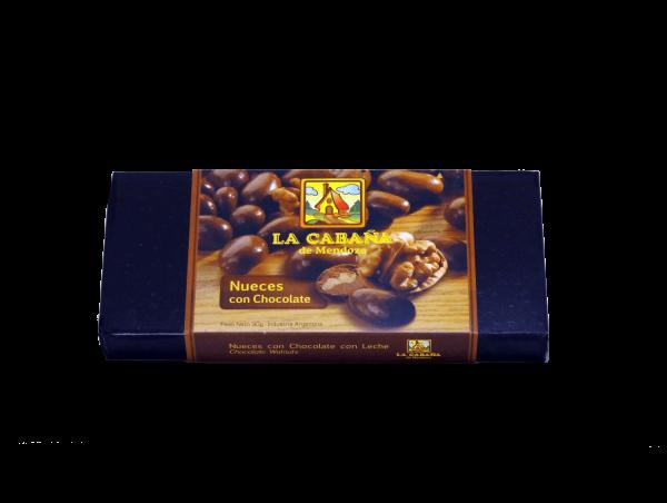 Nueces con chocolate