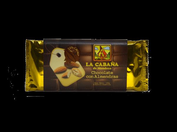 Tableta chocolate con almendras