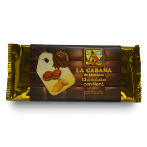 Tableta chocolate con maní