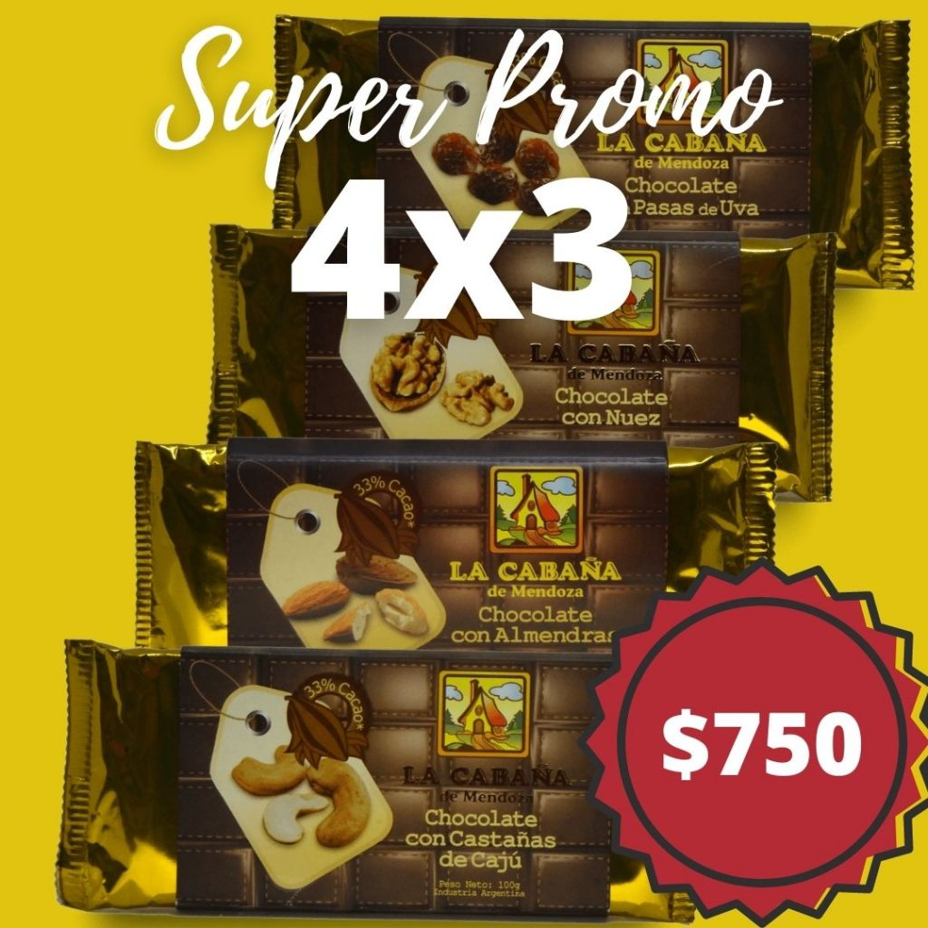 tabletas de chocolate rellenas con frutos secospromo4x3